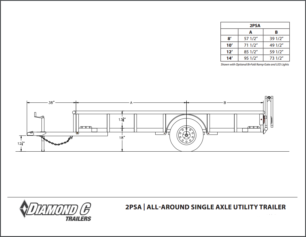 Diamond C Trailer Wiring Diagram Diagrams Folding Trailers Tandem Axle Utility 35 Dump 6 Pin