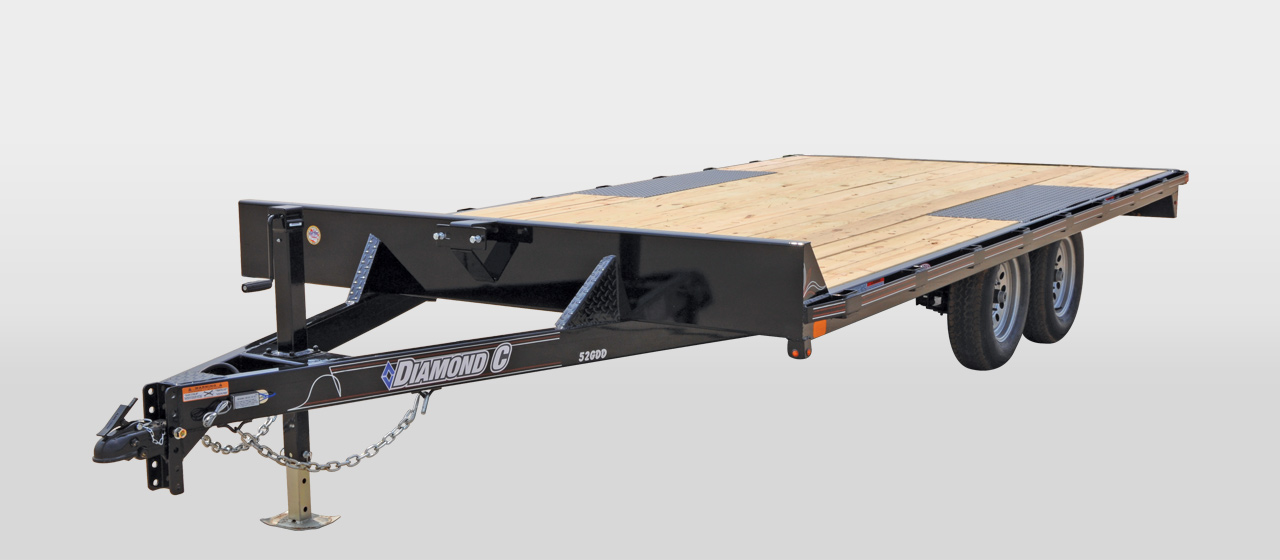 DIAMOND C 52GDD GENERAL DUTY DECK OVER TRAILER