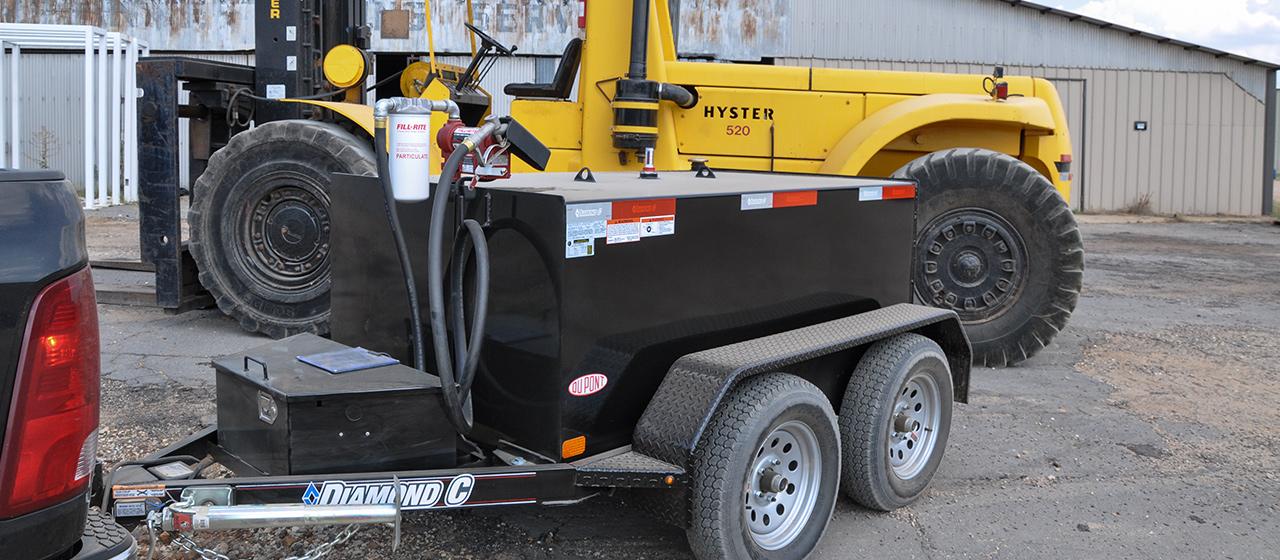 diamond c trailer tandem axle custom tank trailers