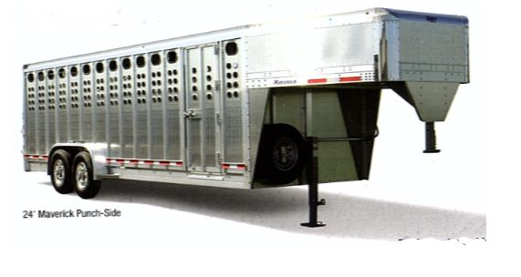 eby livestock trailer punch side