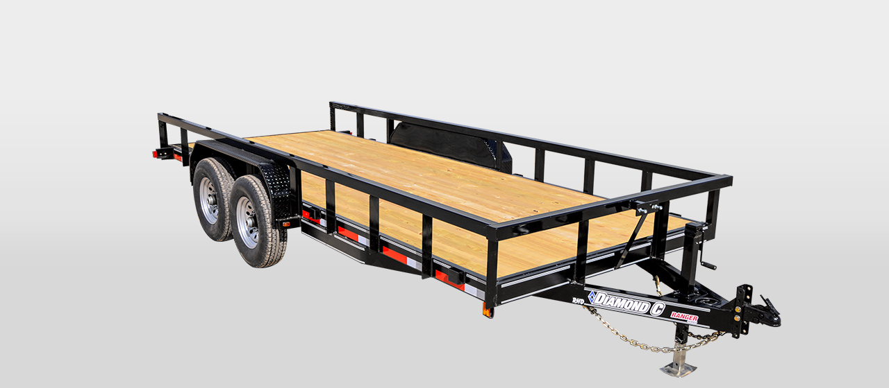 DIAMOND C RHD - RANGER Heavy Duty Utility Trailer