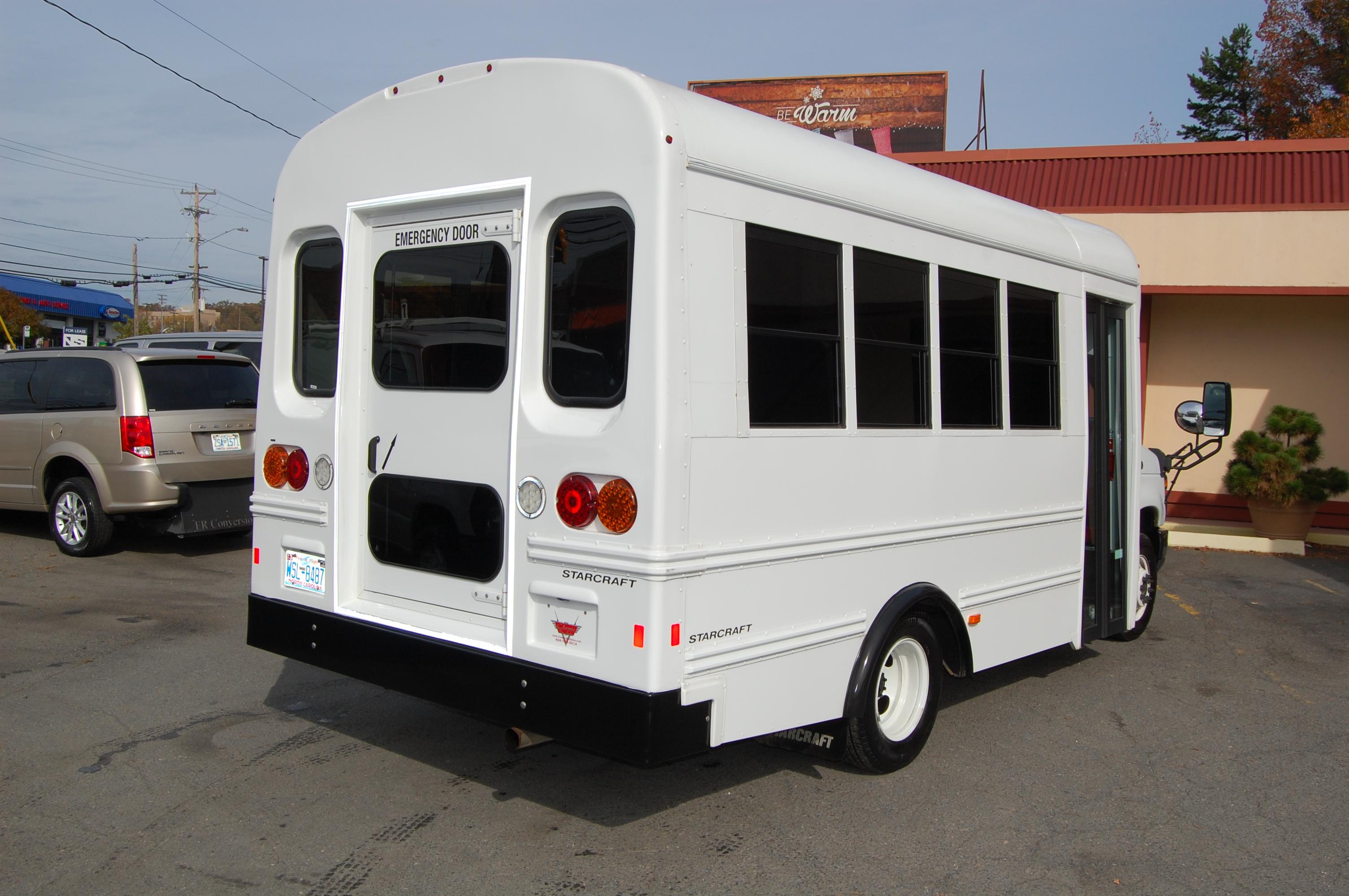 Car Rentals Charlotte Nc >> 15 Passenger Activity Bus