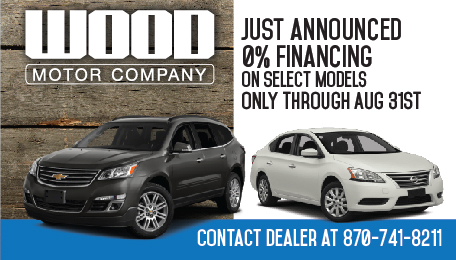 Wood Motor Company 0% Financing