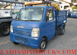 mini truck dump truck with cation lights