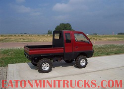 daihatsu deck van caom lifted with roll cage off road lights