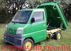 Better than a John Deere Gator a JD green mini truck
