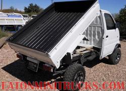 Rhino Lining on a Suzuki 4wd mini dump truck