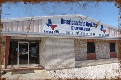 American Auto Brokers dealership in San Antonio, TX