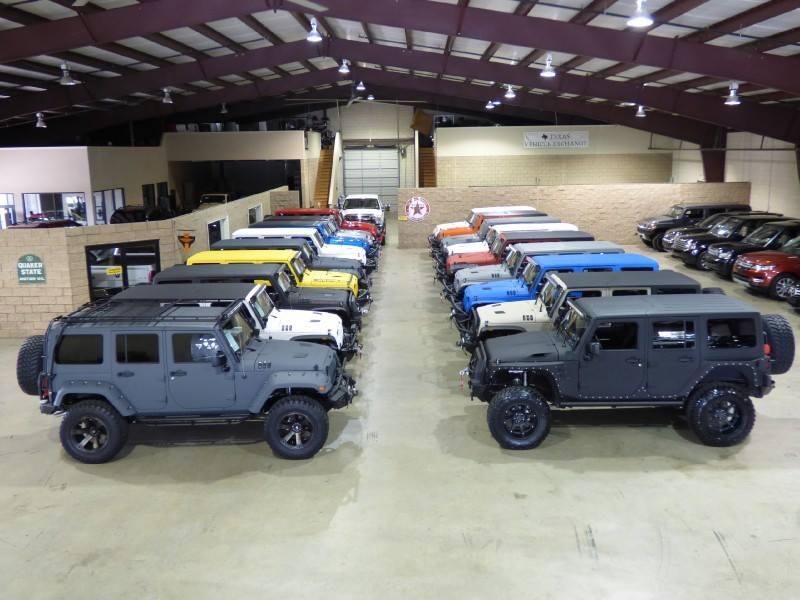 About Texas Vehicle Exchange | Used Custom Jeeps Carrollton TX