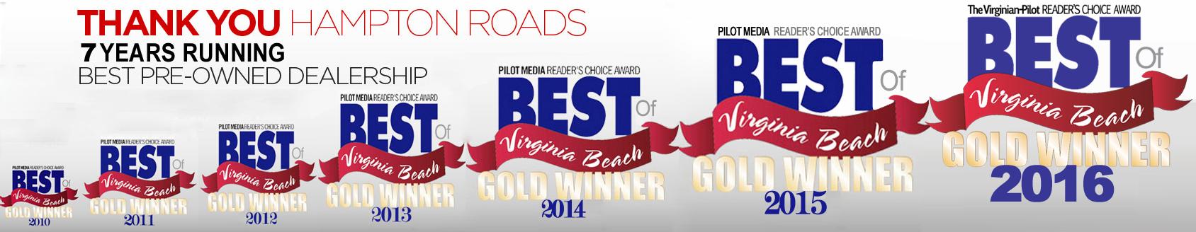 Best of virginia beach gold winner