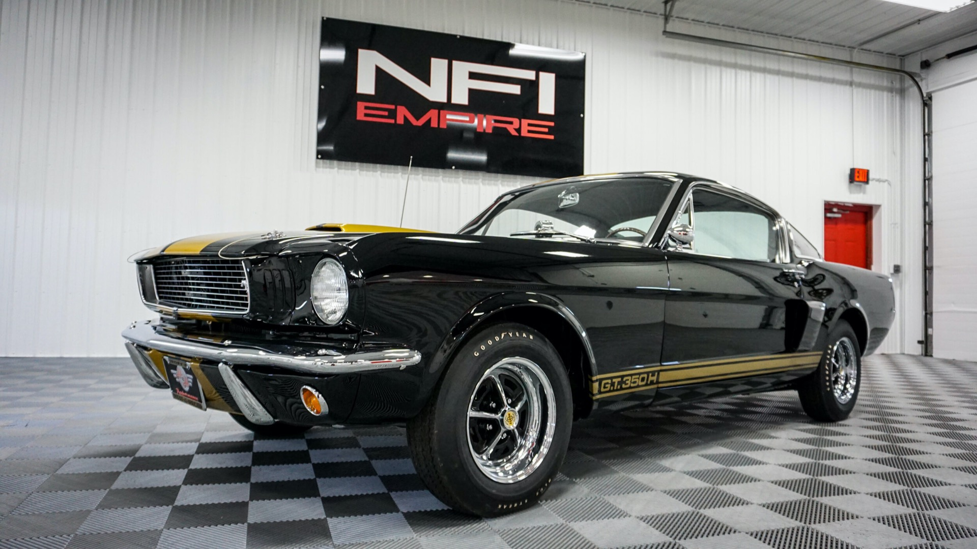 66 Mustang header image