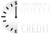 Trey Crouch's Wheels on Credit Logo