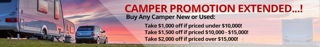 camper sale extended