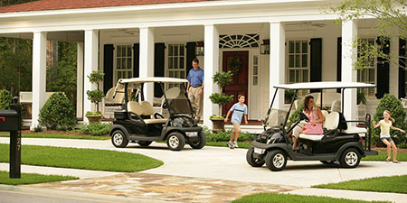Club Car Precedent Signature Villager 4 golf cart for sale