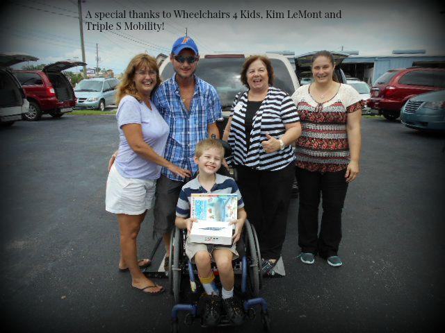 Teddy Gets a Wheelchair Lift