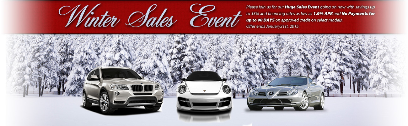Find the best used cars in Alexandria at our Winter Sales Event