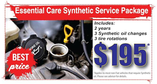 oil change coupon $195