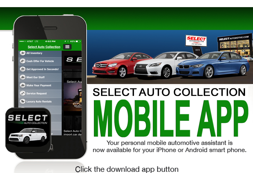 Select Auto Collect App Ad