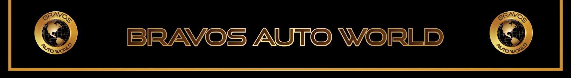 BRAVO'S AUTO WORLD  Logo