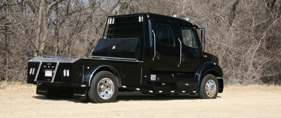 sportchassis trucks big block horse power texas hauler
