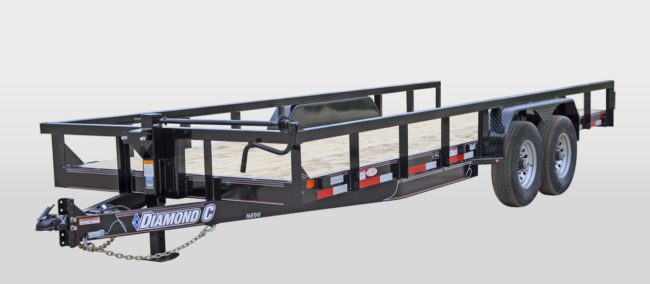 DIAMOND C 16EDU - Extreme Duty Utility Trailer