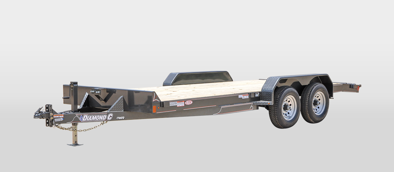 17MEQ MEDIUM DUTY EQUIPMENT TRAILER