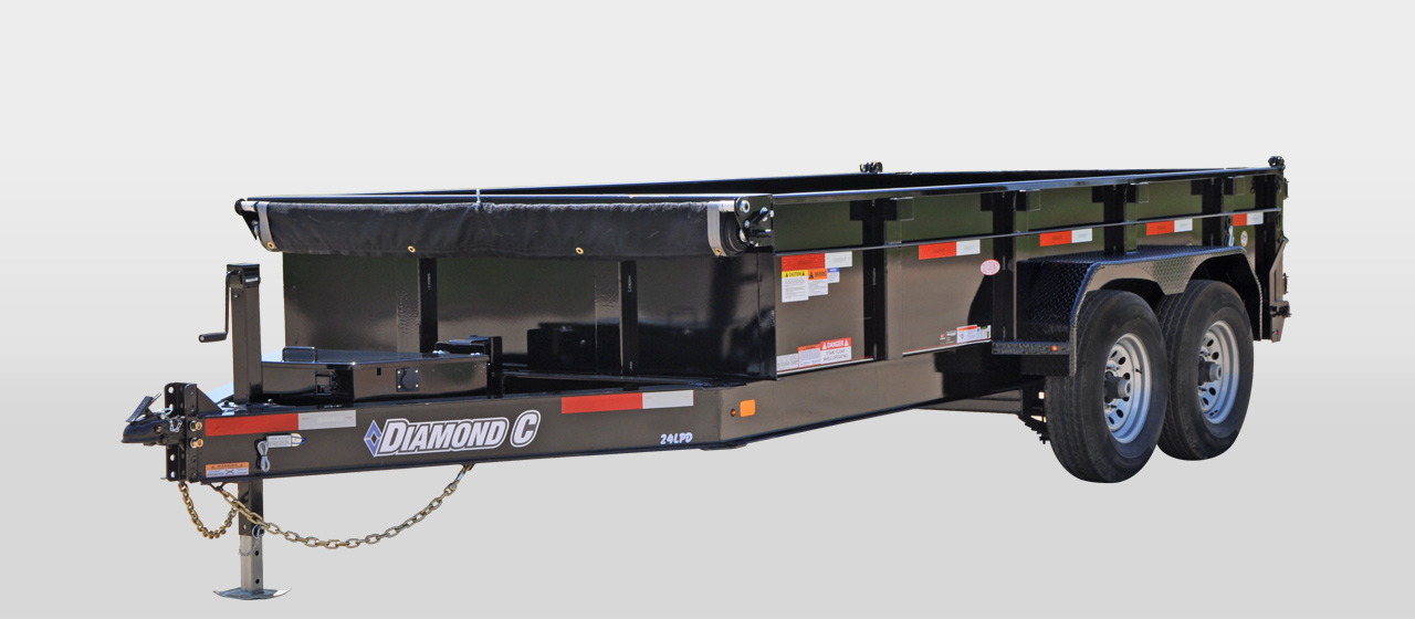 Diamond C 24LPD - Heavy Dury Low Profile Dump Trailer