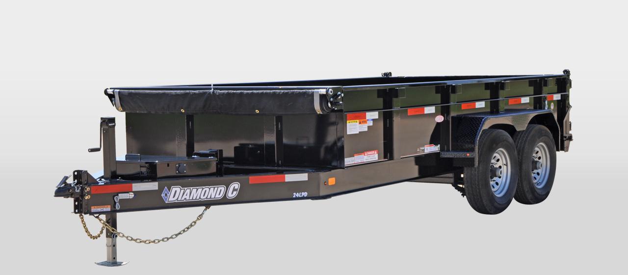 Diamond C 24LPD - Heavy Dury Low Profile Dump Trailer