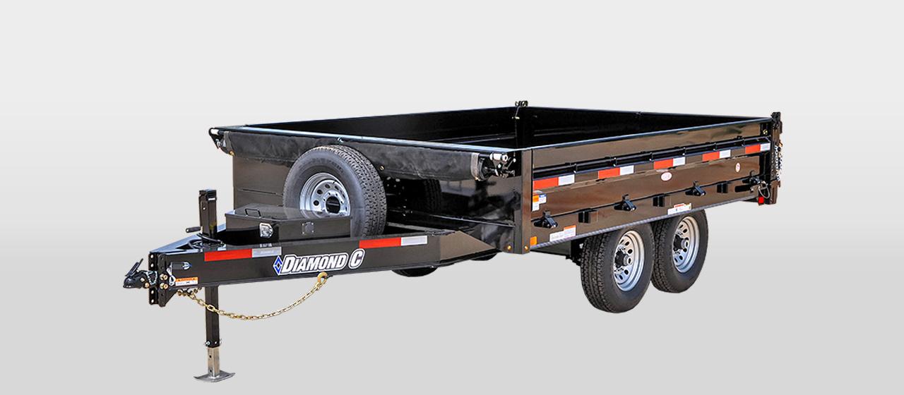 Diamond C 25DOD - Deck-Over Dump Trailer