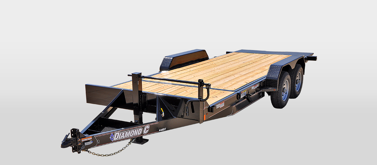 diamond c 44HDT HYDRAULICALLY DAMPENED TILT TRAILER
