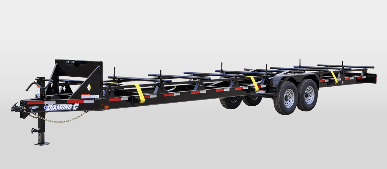 Diamond C 50PT Pipe pole Trailer