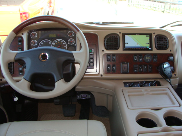 SportChassis Truck tan interior