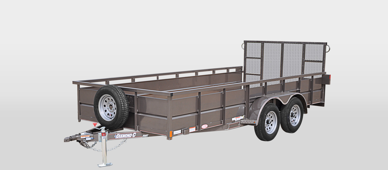 DIAMOND C 8RBT-ROUSTABOUT Tandem Axle Utility Trailer
