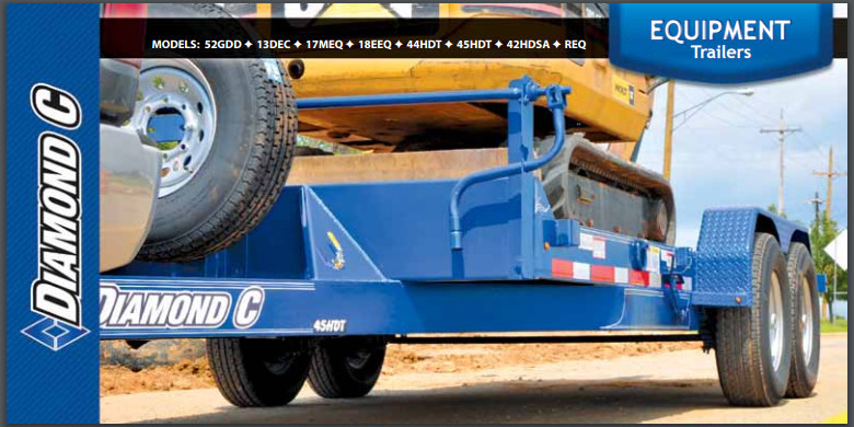 DIAMOND C EQUIPMENT TRAILERS TRAILER BROCHURE