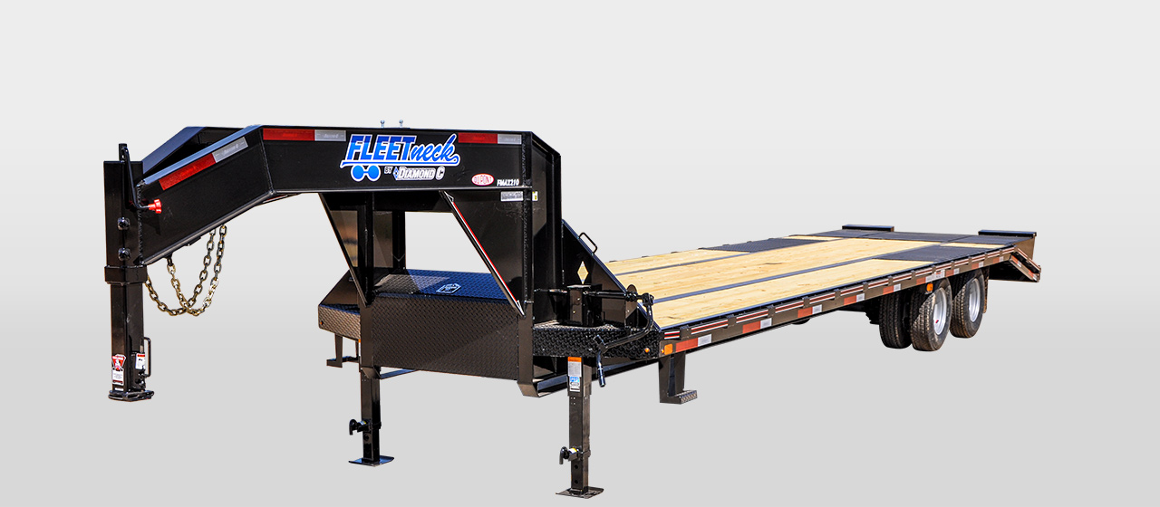 diamond c FMAX210 - Tandem - Dual Wheel Gooseneck Trailer