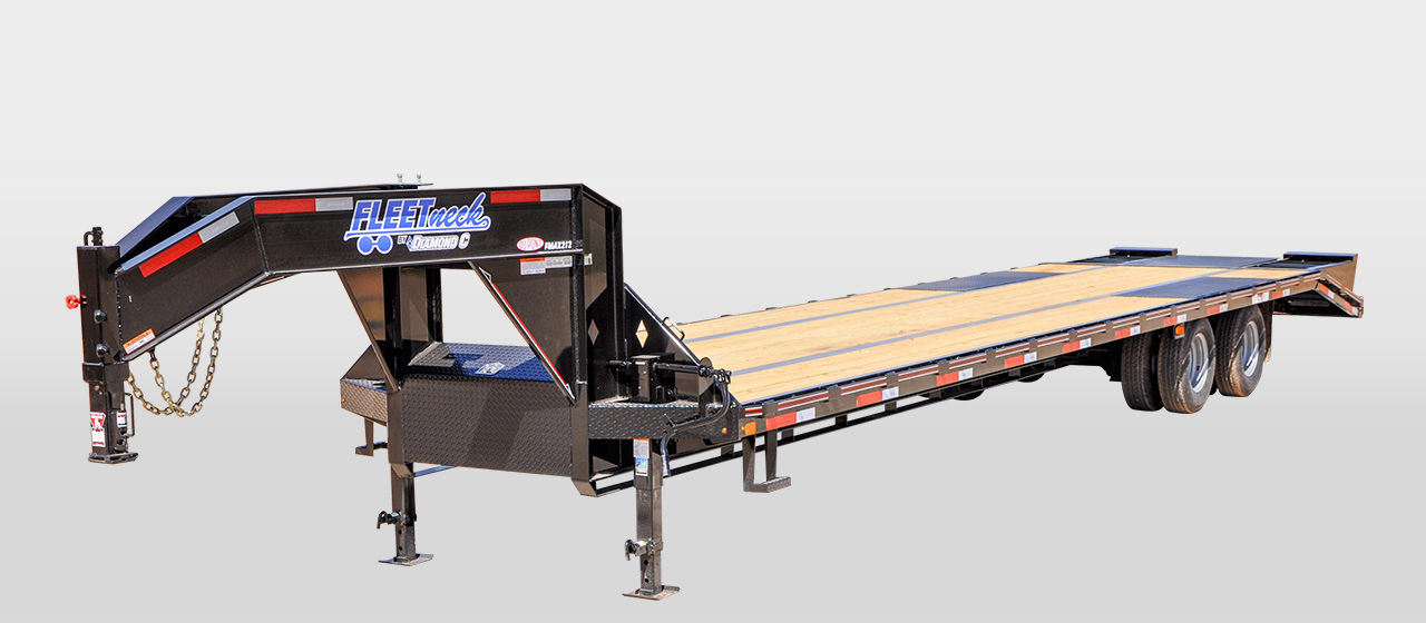 diamond c FMAX212 - Tandem - Dual Wheel Gooseneck Trailer