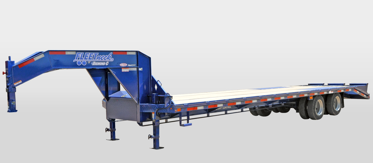 diamond c FMAX215 - Tandem - Dual Wheel Gooseneck Trailer