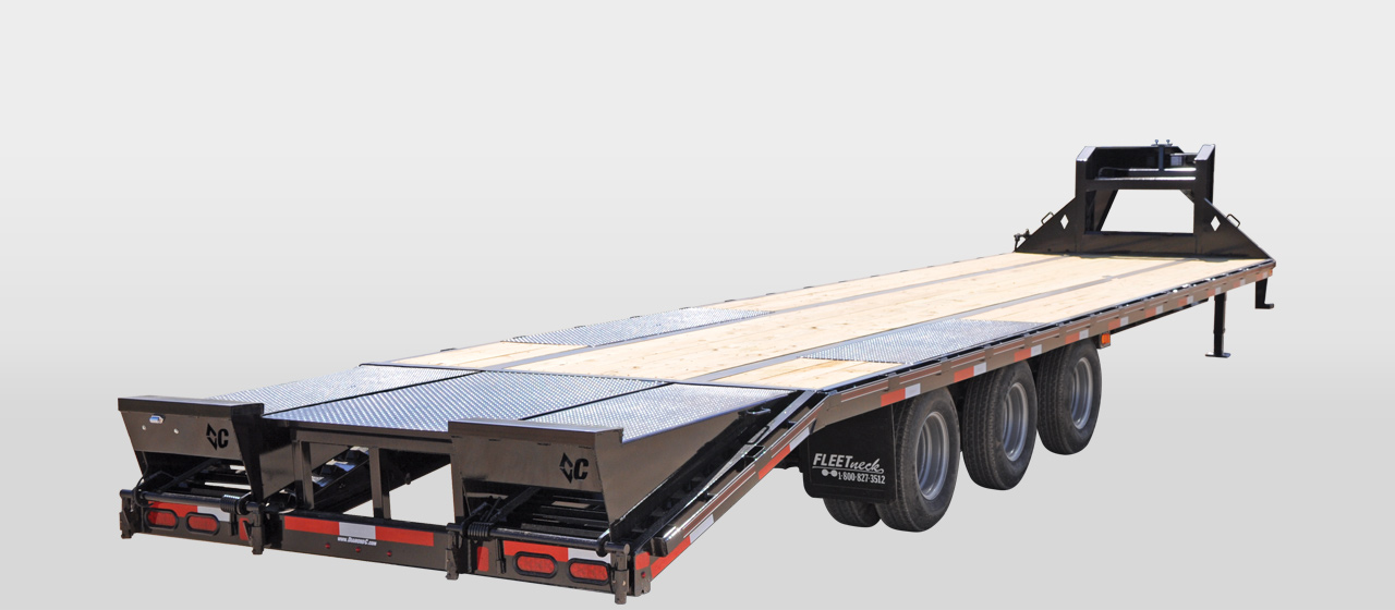diamond c FMAX312 - Triple - Dual Wheel Gooseneck Trailer