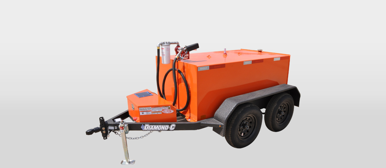 diamond c FT500G - 500 Gallon Fuel Transfer Trailer