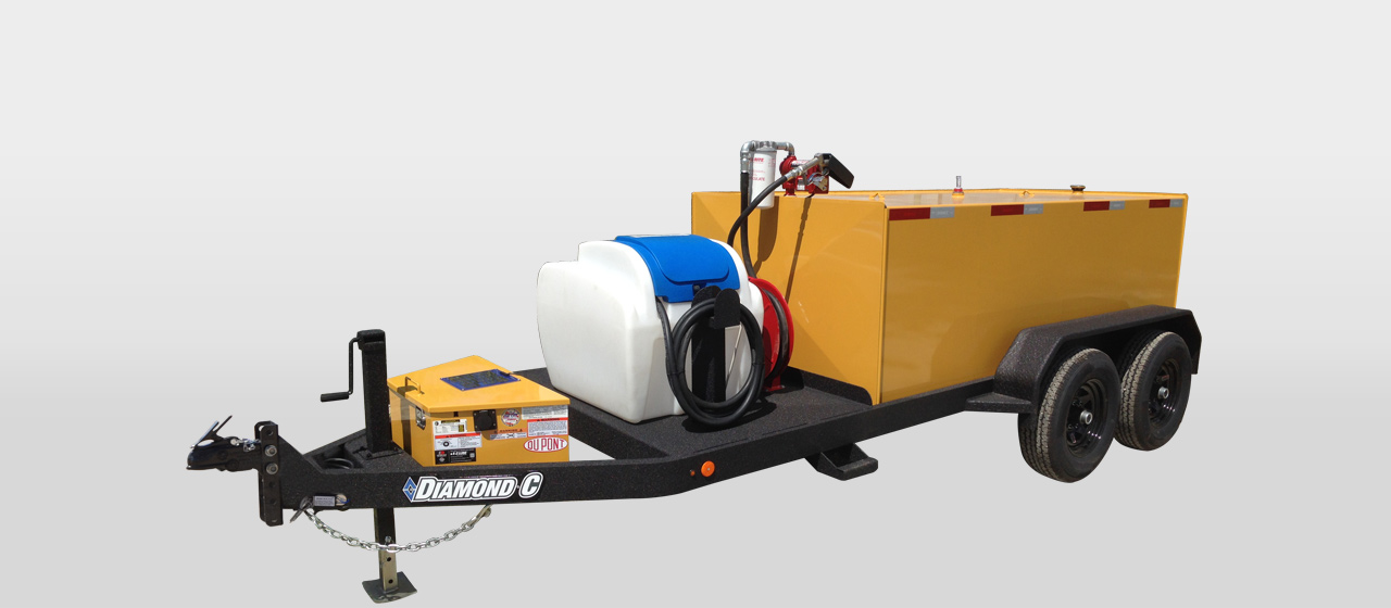 diamond c FT950G - 950 Gallon Fuel Transfer Trailer