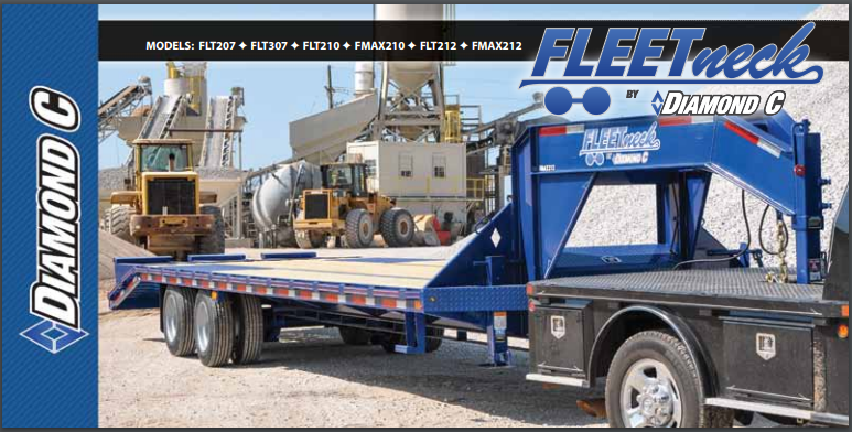 diamond c goose neck trailers brochure pdf