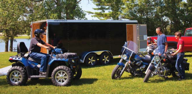 FEATHERLITE TRAILERS RECREATIONAL UTILITY