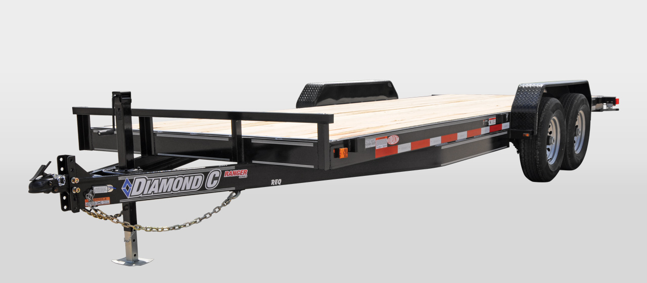 diamond c RANGER FLATBED / EQUIPMENT TRAILER
