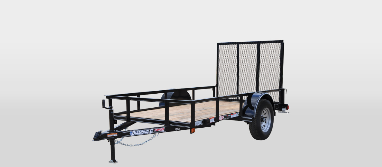Diamond C RSA Ranger Single Axle Utility trailer