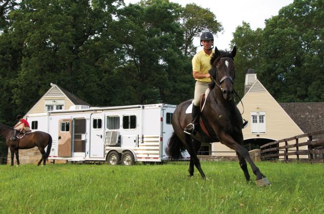 featherlite trailer horse aluminum