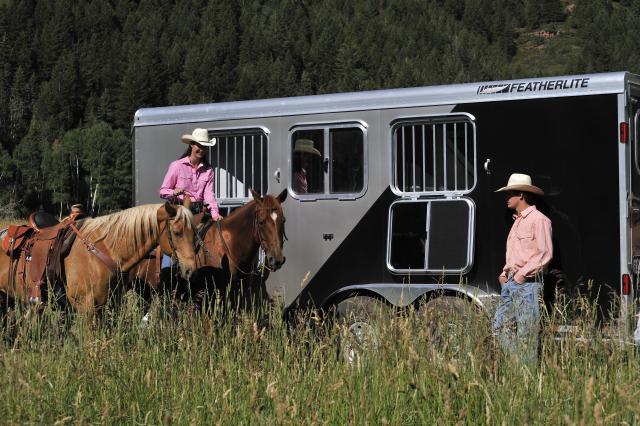 featherlite horse trailer brochure texas