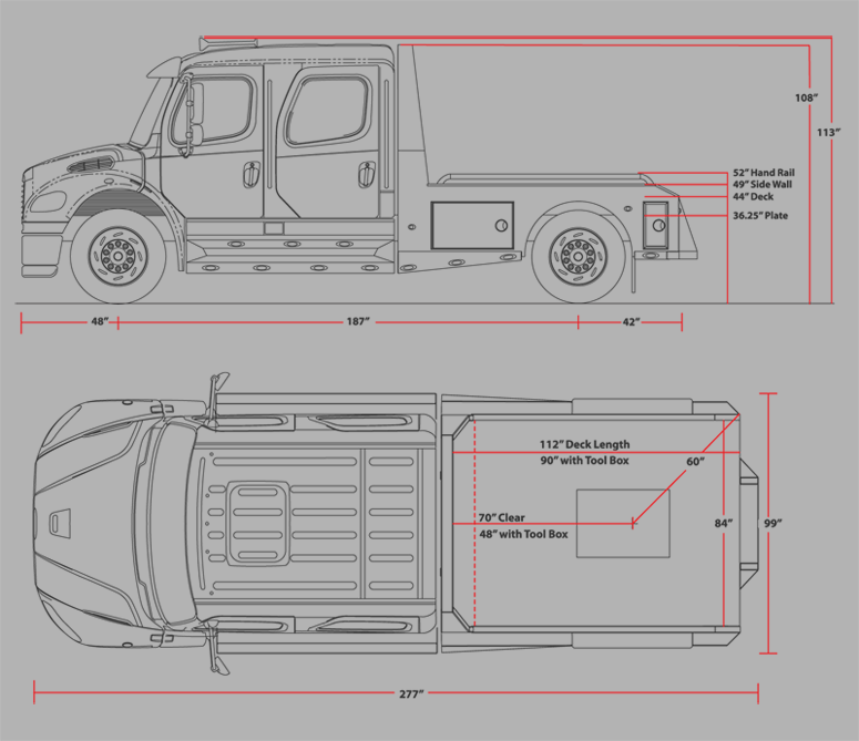 sportchassis trucks texas specs deminsions