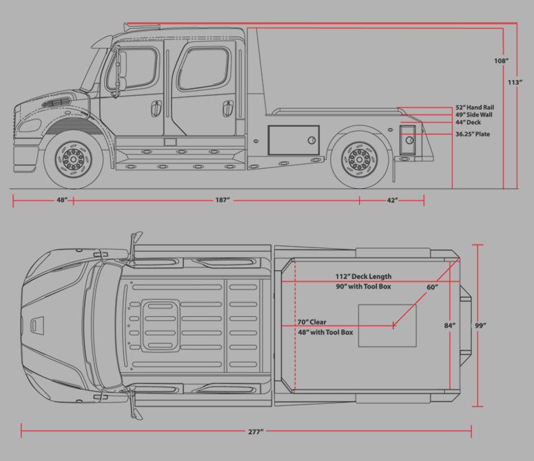 sportchassis trucks texas specs deminsions