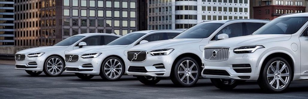 Volvo lineup
