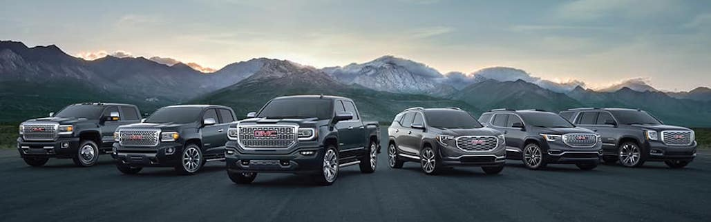 GMC-vehicle-lineup